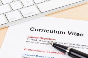 compilazione web del curriculum