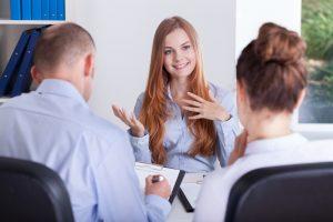 cose da dire ad un colloquio di lavoro ragazza