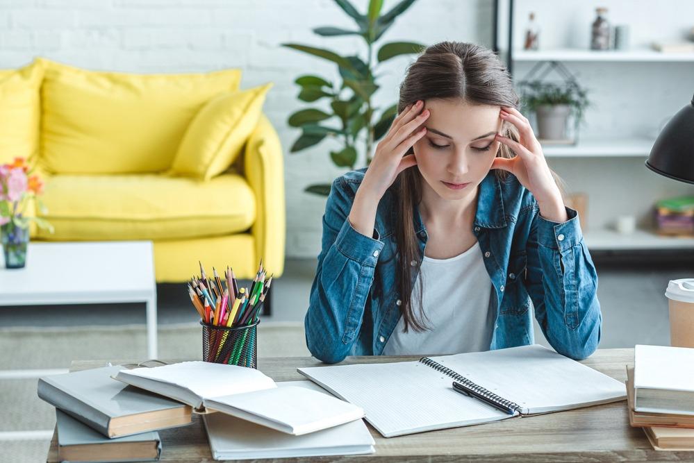 schemi per studiare studentessa