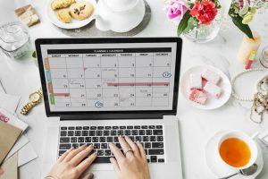 consigli per iniziare una carriera come organizzatore di eventi calendario